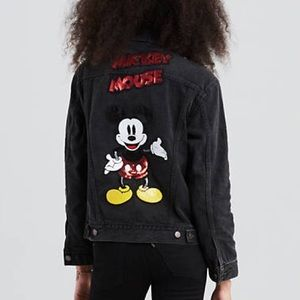 Levi's x Disney Mickey Mouse Trucker Jacket, XS